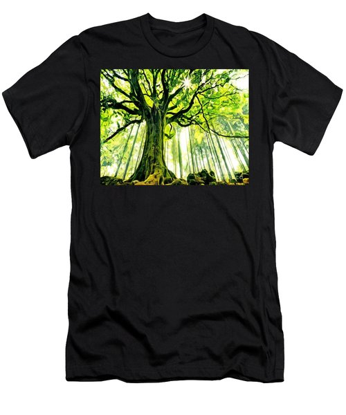 Raised By The Light Men's T-Shirt (Athletic Fit)