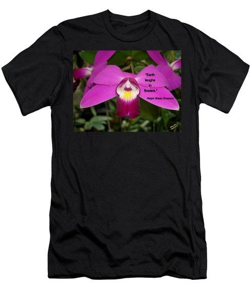 Ralph Waldo Emerson Men's T-Shirt (Athletic Fit)