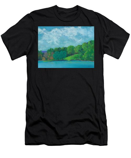 Raquel's Morning Walk Men's T-Shirt (Athletic Fit)