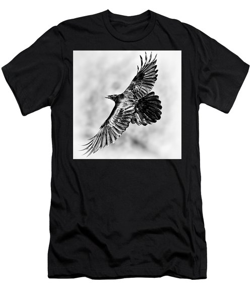 Raven Of Death Valley Men's T-Shirt (Athletic Fit)