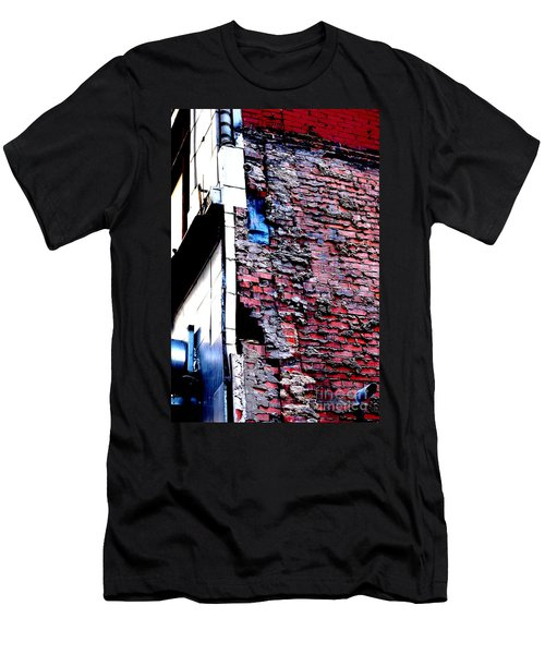 Men's T-Shirt (Athletic Fit) featuring the photograph Raw Brick Bones by Christiane Hellner-OBrien