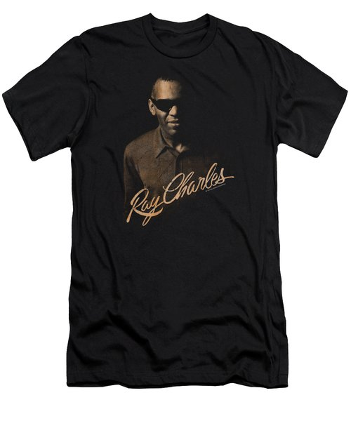 Ray Charles - The Deep Men's T-Shirt (Athletic Fit)