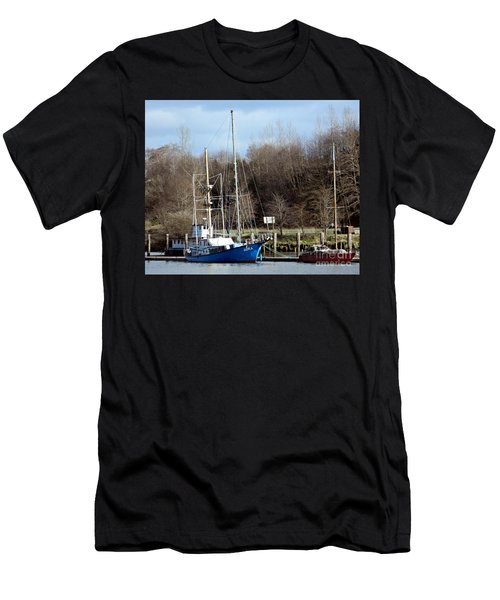 Raymond Fishing Boats Men's T-Shirt (Athletic Fit)