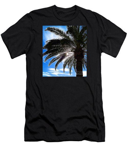 Reaching For Heaven Men's T-Shirt (Athletic Fit)
