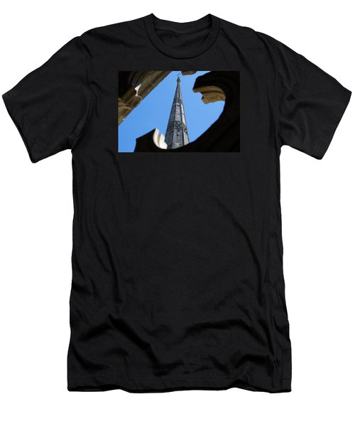 Men's T-Shirt (Slim Fit) featuring the photograph Reaching Towards Heaven by Wendy Wilton