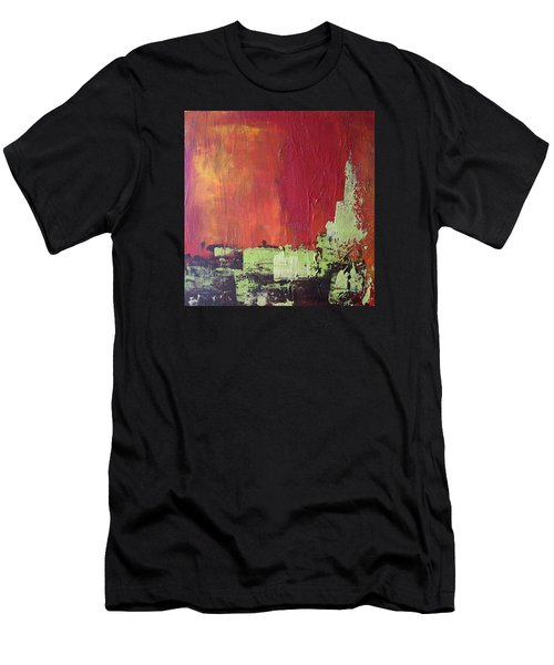 Reaching Up, Abstract  Men's T-Shirt (Athletic Fit)