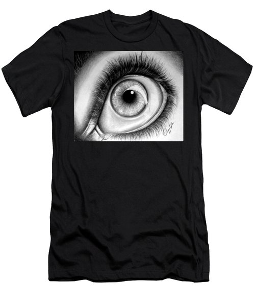 Realistic Eye Men's T-Shirt (Athletic Fit)