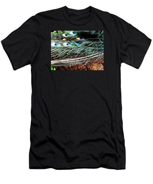 Men's T-Shirt (Slim Fit) featuring the photograph Realpeack by Vanessa Palomino