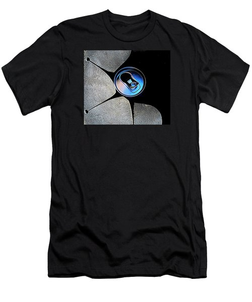 Recycled Can In A Recycle Bin Men's T-Shirt (Athletic Fit)
