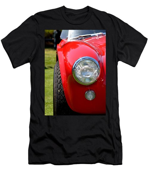Men's T-Shirt (Slim Fit) featuring the photograph Red Ac Cobra by Dean Ferreira