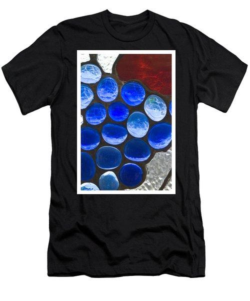 Red Blue Men's T-Shirt (Athletic Fit)