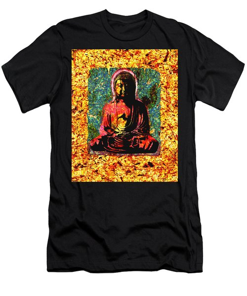 Red Buddha Men's T-Shirt (Athletic Fit)