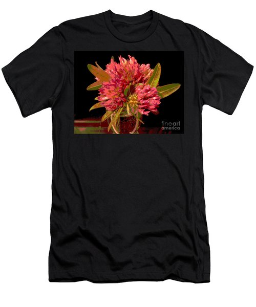 Red Clover 1 Men's T-Shirt (Athletic Fit)