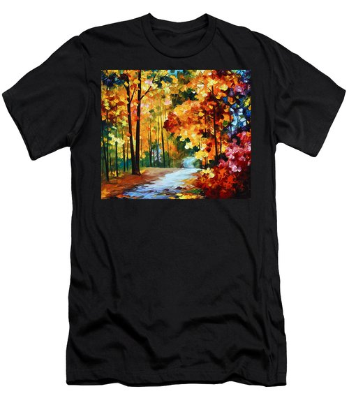 Red Fall Men's T-Shirt (Athletic Fit)