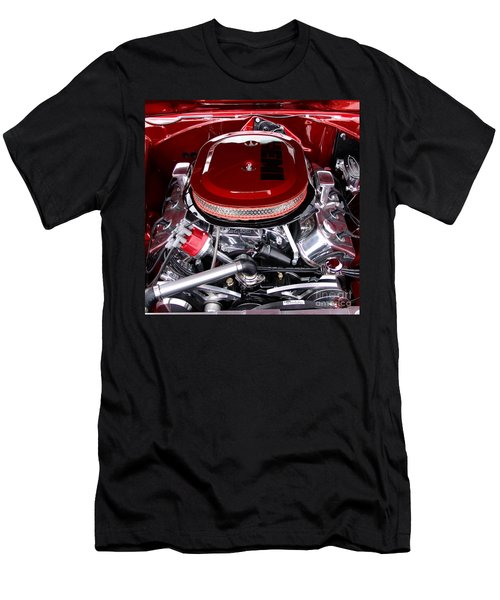 Red Hemi Sq Men's T-Shirt (Athletic Fit)