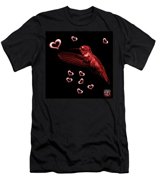 Red Hummingbird - 2055 F M Men's T-Shirt (Athletic Fit)