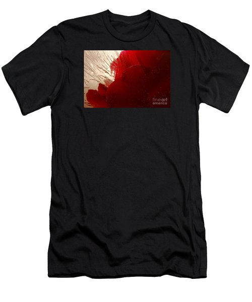 Red Ice Men's T-Shirt (Athletic Fit)