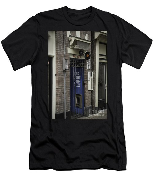 Red Light Complex Amsterdam Men's T-Shirt (Athletic Fit)