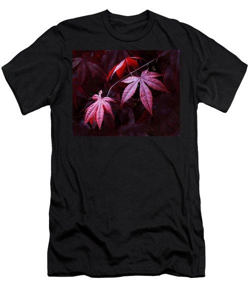 Red Maple Trio Men's T-Shirt (Athletic Fit)