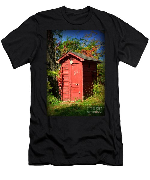 Red Outhouse Men's T-Shirt (Athletic Fit)