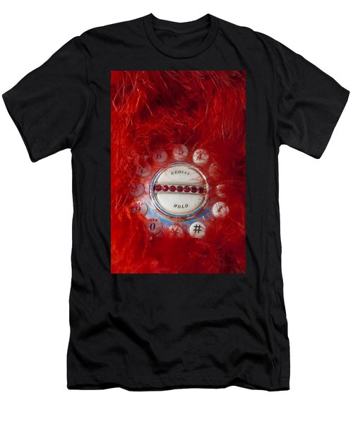 Red Phone For Emergencies Men's T-Shirt (Athletic Fit)