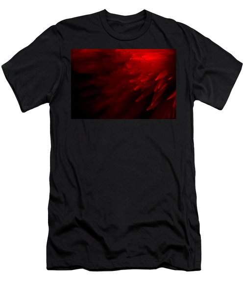 Men's T-Shirt (Slim Fit) featuring the photograph Red Skies by Dazzle Zazz