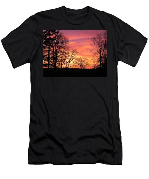 Red Sky At Night Sailor's Delight Men's T-Shirt (Athletic Fit)