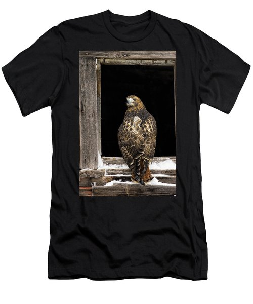 Red Tailed Men's T-Shirt (Athletic Fit)
