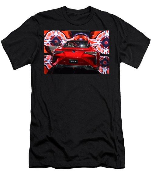 Red Velocity Men's T-Shirt (Slim Fit) by Randy J Heath