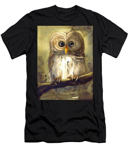 Redbird Cottage Owl Men's T-Shirt (Athletic Fit)