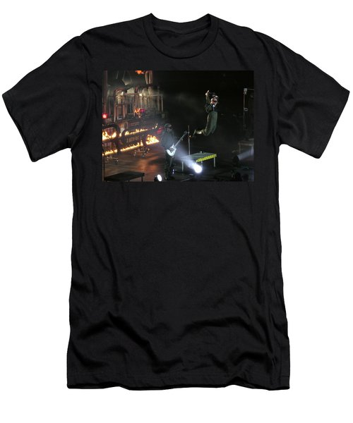 Red's Lead Singer Can Fly Men's T-Shirt (Slim Fit) by Aaron Martens