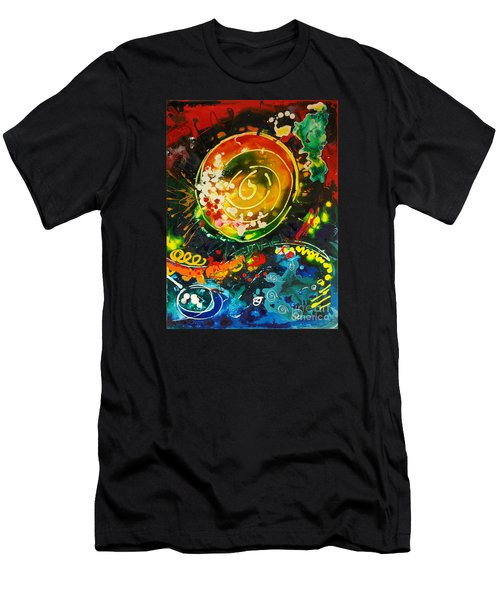 Redshift Canvas 3 Men's T-Shirt (Athletic Fit)