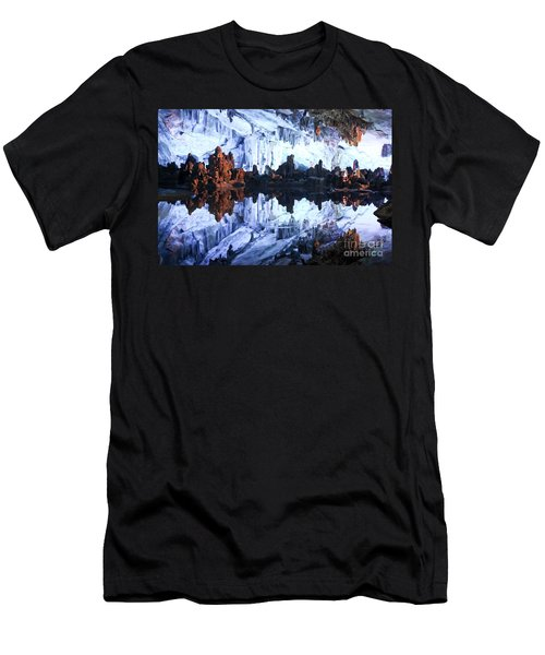 Reed Flute Cave Guillin China Men's T-Shirt (Athletic Fit)