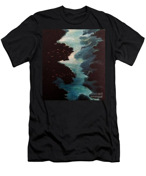 Reef Pohnpei Men's T-Shirt (Slim Fit) by Karen  Ferrand Carroll