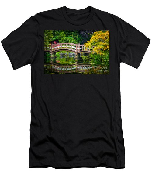 Reflected Bridge Men's T-Shirt (Athletic Fit)