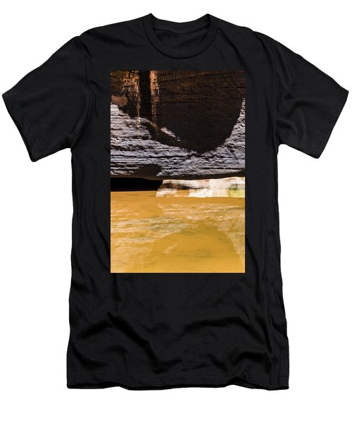 Reflected Formations Men's T-Shirt (Athletic Fit)