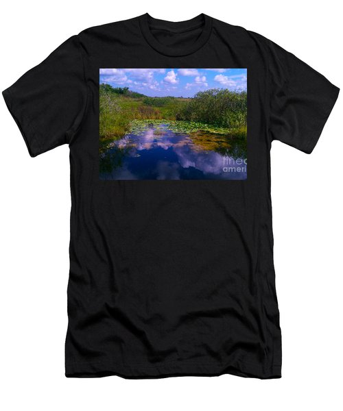 Reflecting In The Glades Men's T-Shirt (Athletic Fit)