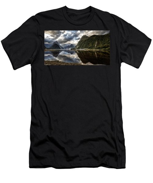 Reflecting On Milford Men's T-Shirt (Athletic Fit)