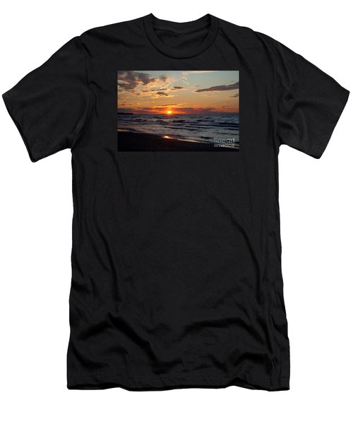 Men's T-Shirt (Slim Fit) featuring the photograph Reflection by Barbara McMahon