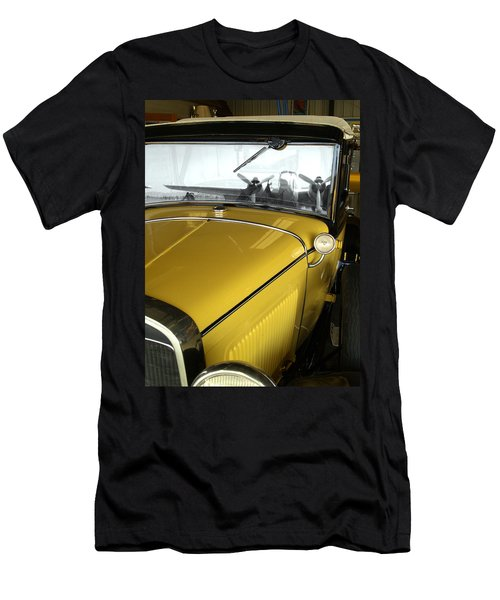Reflection Of The Past Men's T-Shirt (Slim Fit) by Bill Gallagher