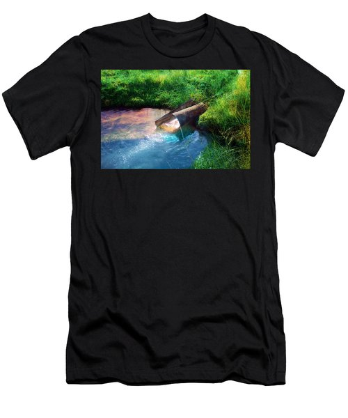 Men's T-Shirt (Athletic Fit) featuring the photograph Reflections by Gunter Nezhoda