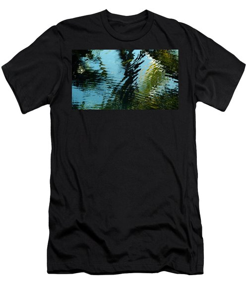 Reflections In A Fishpond Men's T-Shirt (Athletic Fit)