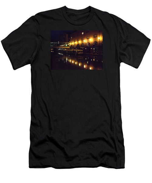 Men's T-Shirt (Slim Fit) featuring the photograph Reflections by Jean Walker