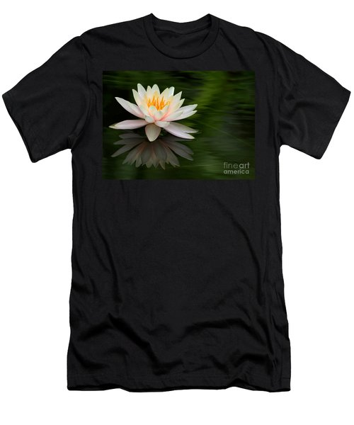 Reflections Of A Water Lily Men's T-Shirt (Athletic Fit)