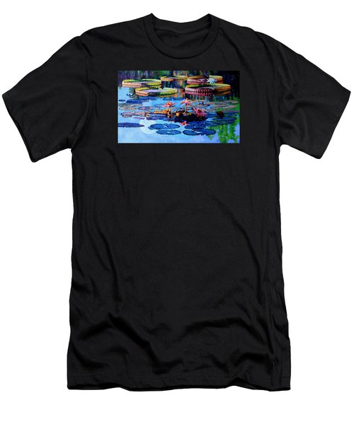 Reflections Of Nature's Beauty Men's T-Shirt (Slim Fit) by John Lautermilch