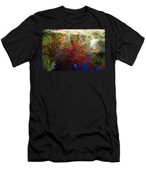 Men's T-Shirt (Slim Fit) featuring the photograph Reflections On Algonquin by David Porteus