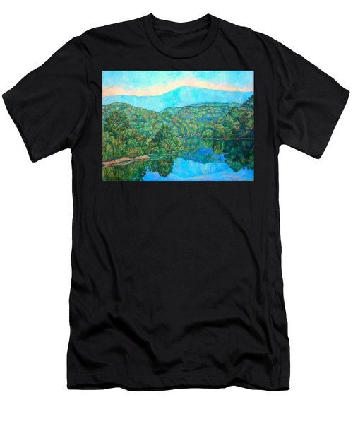 Reflections On The James River Men's T-Shirt (Athletic Fit)