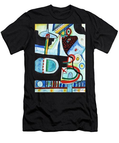 Reflective #7 Men's T-Shirt (Athletic Fit)