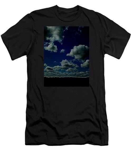 Men's T-Shirt (Slim Fit) featuring the digital art Regret by Jeff Iverson