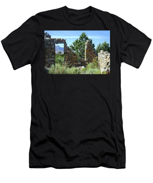 Remains Of A Dream Men's T-Shirt (Slim Fit) by Bob Hislop